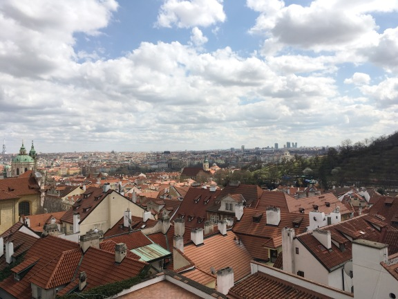 The view from the Prague Castle