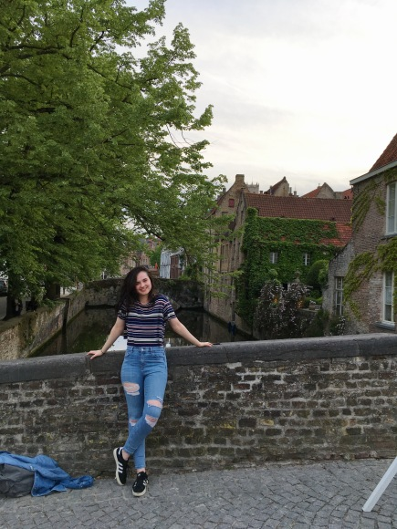 A little picture of myself in Bruges